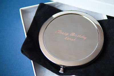 10 Personalized Compact Mirrors Bridesmaid Gifts Maid Of Honor Free Engraved
