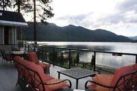 Christina Lake  lakefront Cabin
