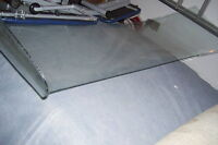 LATE 1950S FORD CAR WINDSHIELD CLEAR WITH SLIGHT TINT