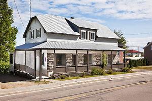 Maison du Village à louer au pied du Massif de Charlevoix