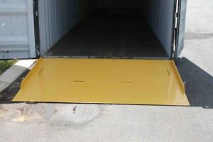 CONTAINER RAMP - NEW - 8000kg CAPACITY - DELIVERED METRO AREA O'Connor Fremantle Area Preview