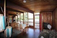 Lakefront cottage , Beautiful view of lake and grounds,