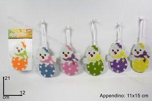 PULCINO-DAPPENDERE-IN-FELTRO-PZ-4-Pasqua-Decorazioni-Addobbi-Festa-Appendini