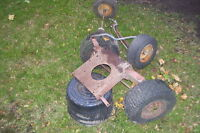 LAWN TRACTOR FRONT AXEL & PARTS