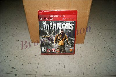 Infamous Greatest Hits Red Label Version Ps3