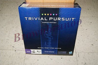 Trivial Pursuit Master Edition Hasbro Board Game 2950 Questions