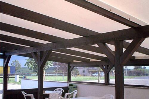 Dach Für Pergola pvc wintergarten terrassen pergola verkleidung wetterschutz dach in