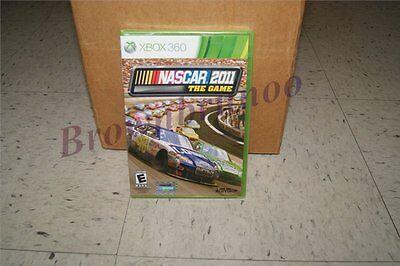 Nascar The Game 2011 Xbox 360 Race Car Sealed