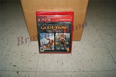 God Of War Collection Greatest Hits Red Label Version 2 Games Ps3