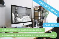 Logo Design • Website Design • Branding