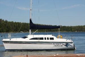 26 Hunter Water Ballast Series TRAILABLE SAILBOAT
