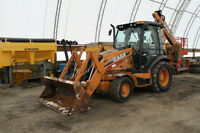 580 Case SN backhoe loader