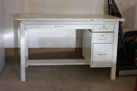 Metal Architectural Drafting Table or Art Desk