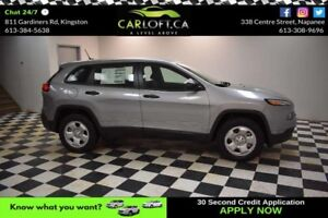2017 Jeep Cherokee Sport- UCONNECT * CRUISE * KEYLESS ENTRY