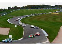 2 x weekend admission adult British GT & British F3 Championships tickets at Donington park 22-23Sep