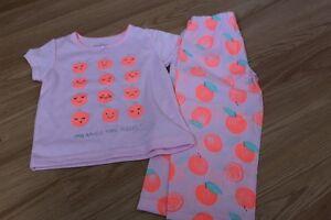 Pyjama  fille 2T