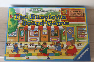 """"""" THE BUSYTOWN """" BOARD GAME from Ravensburger"""