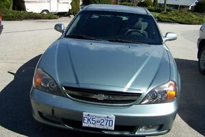 2004 Chevrolet Epica green Sedan