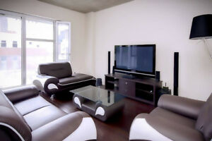 LUXURY CONDO DOWNTOWN MONTREAL FULLY FURNISHED (SHORT TERM)