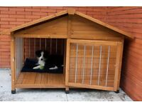 Luxury Dog Kennel * Free Delivery *