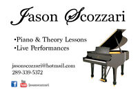 In-Home Piano Lessons in Ancaster, Dundas, Westdale, Hamilton