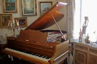 c1910 CHICKERING BABY GRAND PIANO IN SHOWROOM CONDITION