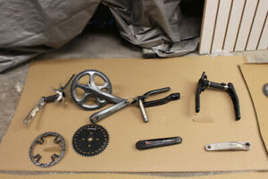 Bicycle Ultegra Cranksets, Chainrings, Sprocket Assorted Parts
