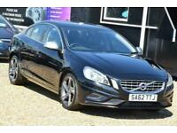 2012 Volvo S60 1.6 DRIVE R-DESIGN S/S 4d 113 BHP + FREE DELIVERY + FREE 3 MONTHS