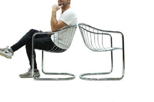 Chrome Lounge or Dining Chairs