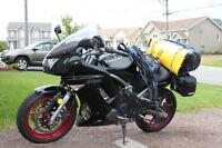 Kawasaki Ninja 650r, Twin, low Km's, many add-ons