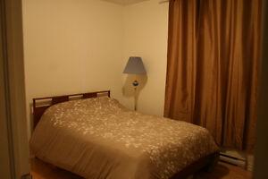 Chambre à louer meublée, quartier de Saint-Henri