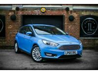 2016 Ford Focus 1.5 TITANIUM X 5d AUTO 180 BHP Hatchback Petrol Automatic