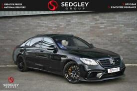 image for 2020 Mercedes-Benz S Class 4.0 S63L V8 AMG SpdS MCT (s/s) 4dr Saloon Petrol Auto