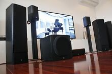 YAMAHA speakers 5.1 Home theatre speaker package Nollamara Stirling Area Preview