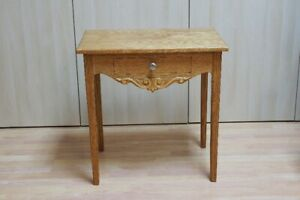 Solid oak entrance table