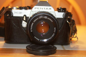 Pentax MG 35mm Film Camera with a 50mm Lens