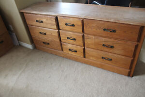 Dresser and Night Tables Solid Wood