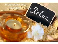 Relaxing Swedish Massage, Professional and Qualified