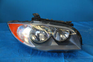 BMW 1 series E82 HALOGEN Headlight Passenger