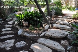 Limestone for landscaping and retaining walls. Large and small