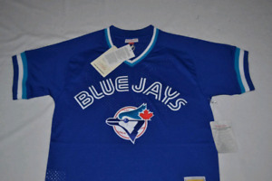 Brand New Mitchell and ness Blue Jay's Jersey