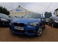 2014 64 BMW 1 SERIES 2.0 118D M SPORT 5D 141 BHP DIESEL