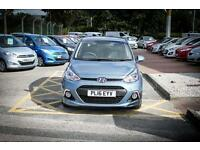 2016 16 HYUNDAI I10 1.0 Go Edition 5dr in Aqua Sparklin