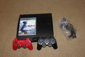 PS3 Slim (all cables incl.)