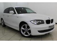 2010 10 BMW 1 SERIES 2.0 116D SPORT 5DR 114 BHP DIESEL