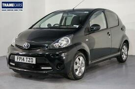 2014 Toyota Aygo 1.0 VVT-I Move With Style With Sat Nav, Bluetooth, Air Con And