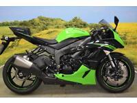 Kawasaki ZX6 R 2010 ** OHLINS STEERING DAMPER, LAP TIMER, SHOWA FORKS **