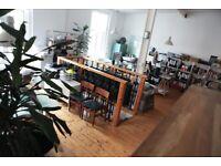 West End. Desk to rent in quiet creative studio in the Hidden Lane, Finnieston G3 8ND