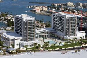 Clearwater Beach Wyndham FL;  $1200 US