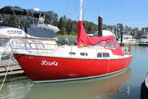 30' Grampian Sailboat - priced to sell - new diesel engine!
